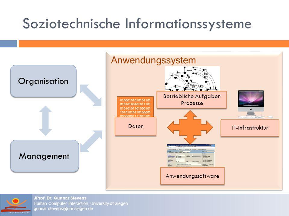 Soziotechnische Informationssysteme
