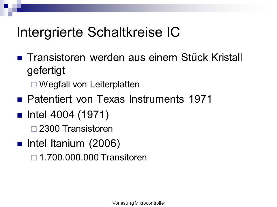 Intergrierte Schaltkreise IC