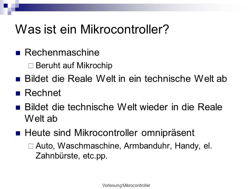 Was ist ein Mikrocontroller
