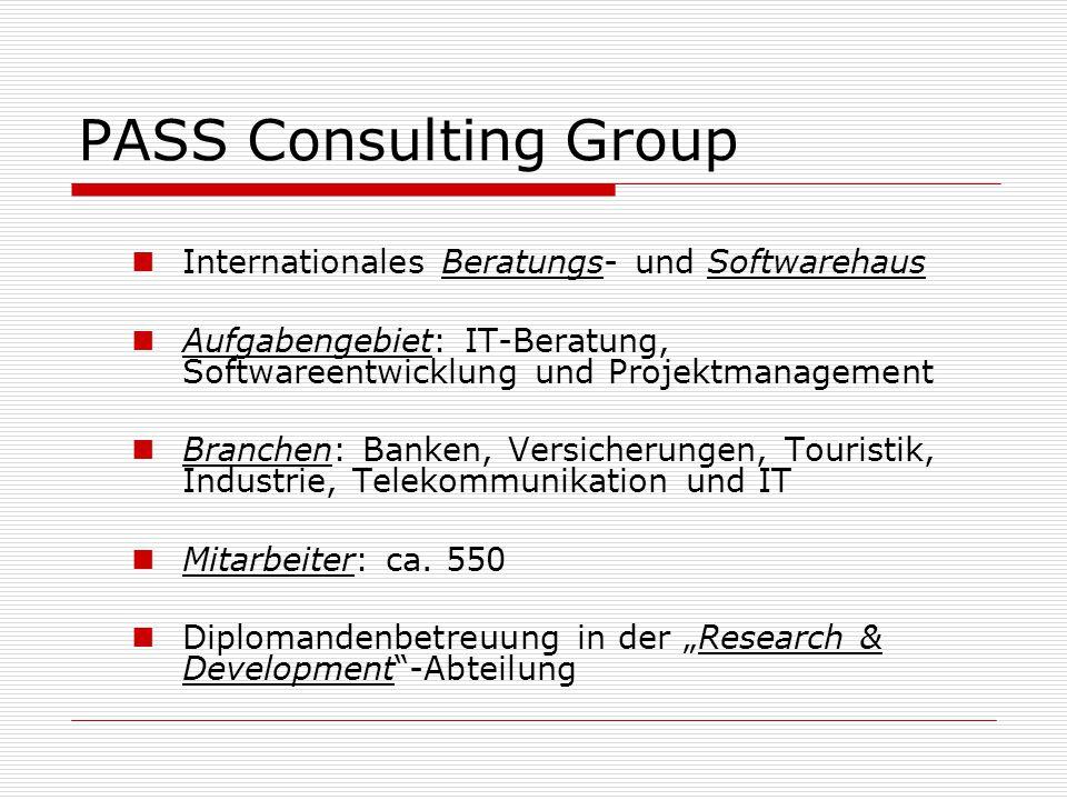 PASS Consulting Group Internationales Beratungs- und Softwarehaus