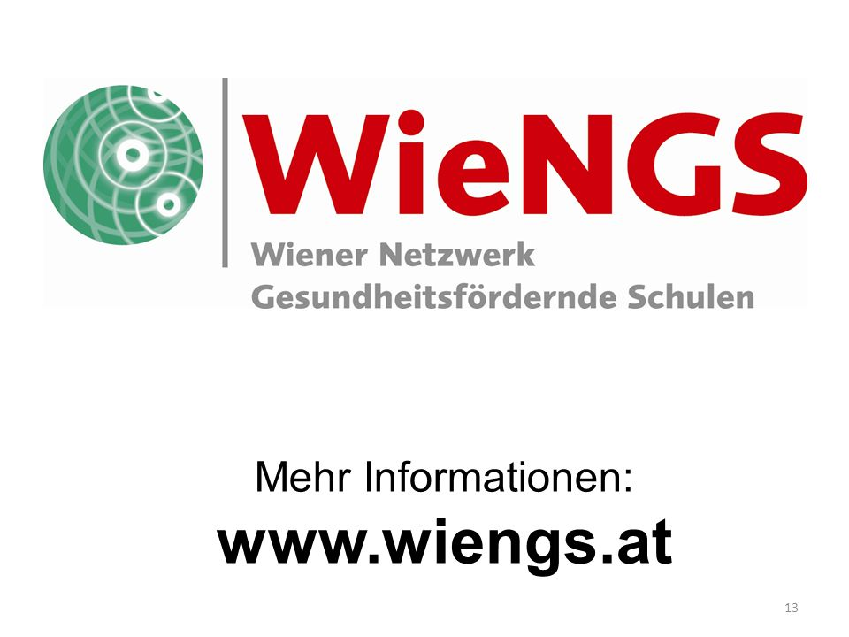 www.wiengs.at Mehr Informationen: