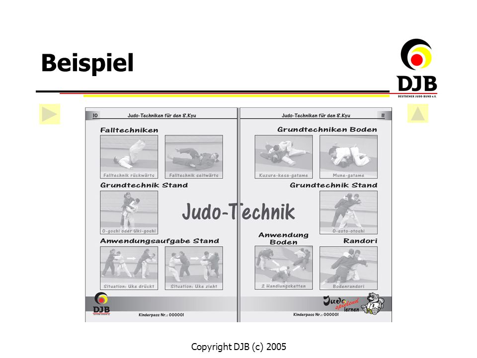 Beispiel Copyright DJB (c) 2005