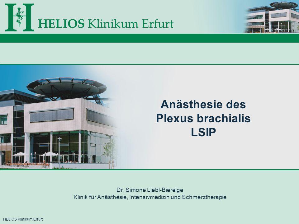 Anästhesie des Plexus brachialis LSIP