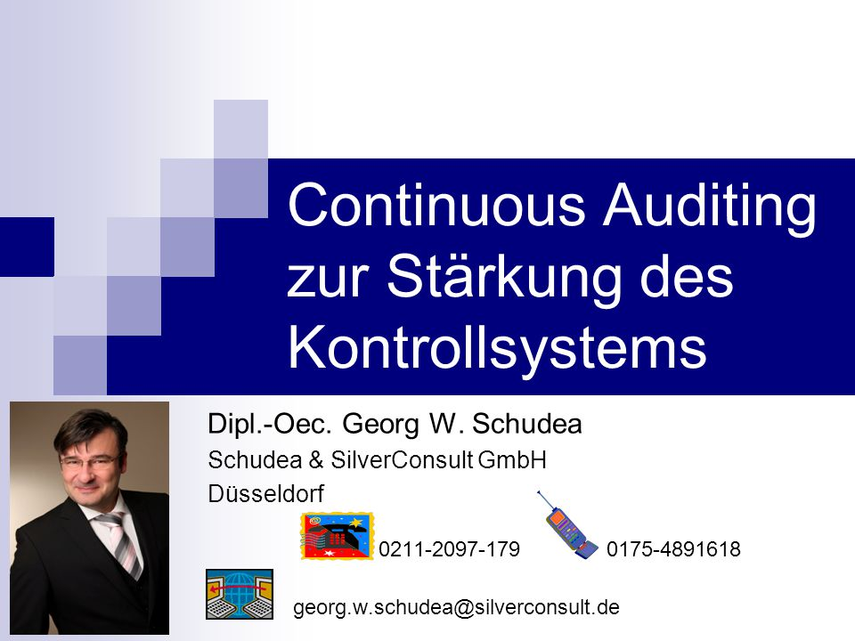 Continuous Auditing zur Stärkung des Kontrollsystems