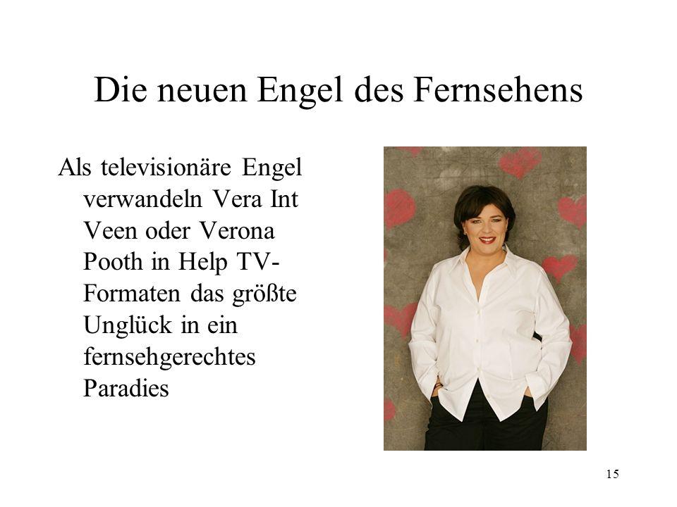 Die neuen Engel des Fernsehens