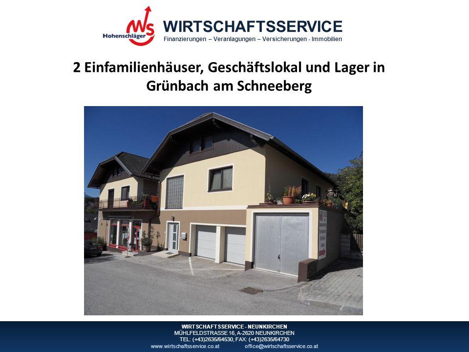Finanzierungen – Veranlagungen – Versicherungen - Immobilien