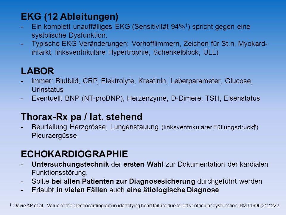 Thorax-Rx pa / lat. stehend
