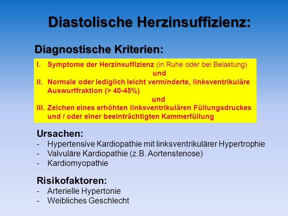 Diastolische Herzinsuffizienz: