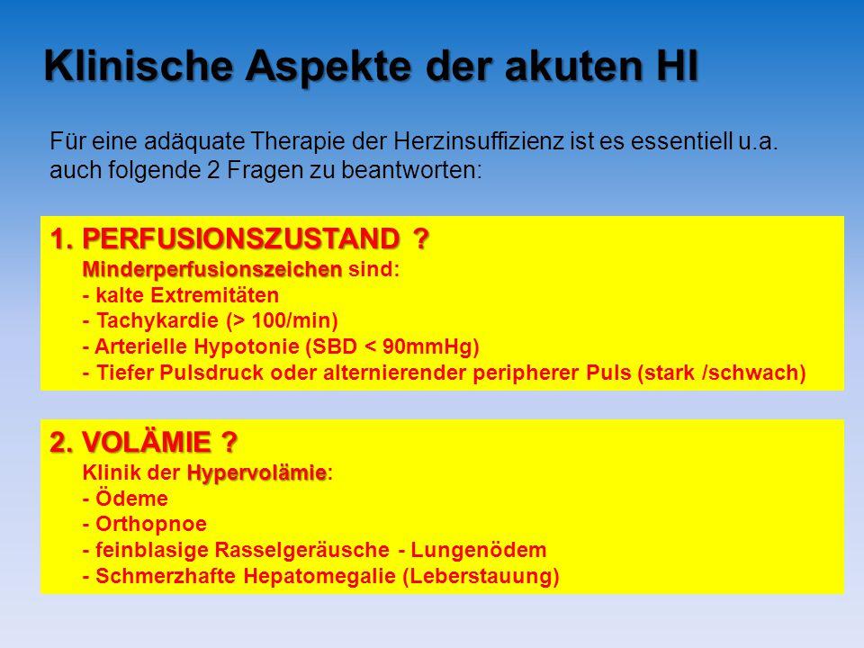 Klinische Aspekte der akuten HI