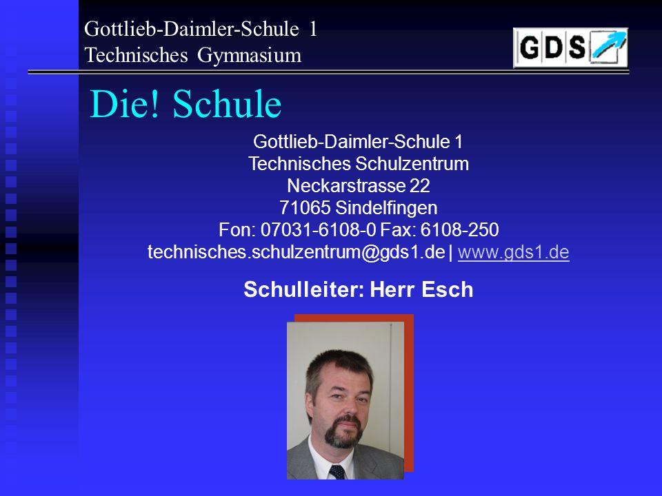 Schulleiter: Herr Esch