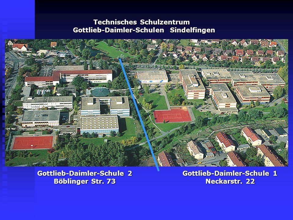 Technisches Schulzentrum Gottlieb-Daimler-Schulen Sindelfingen