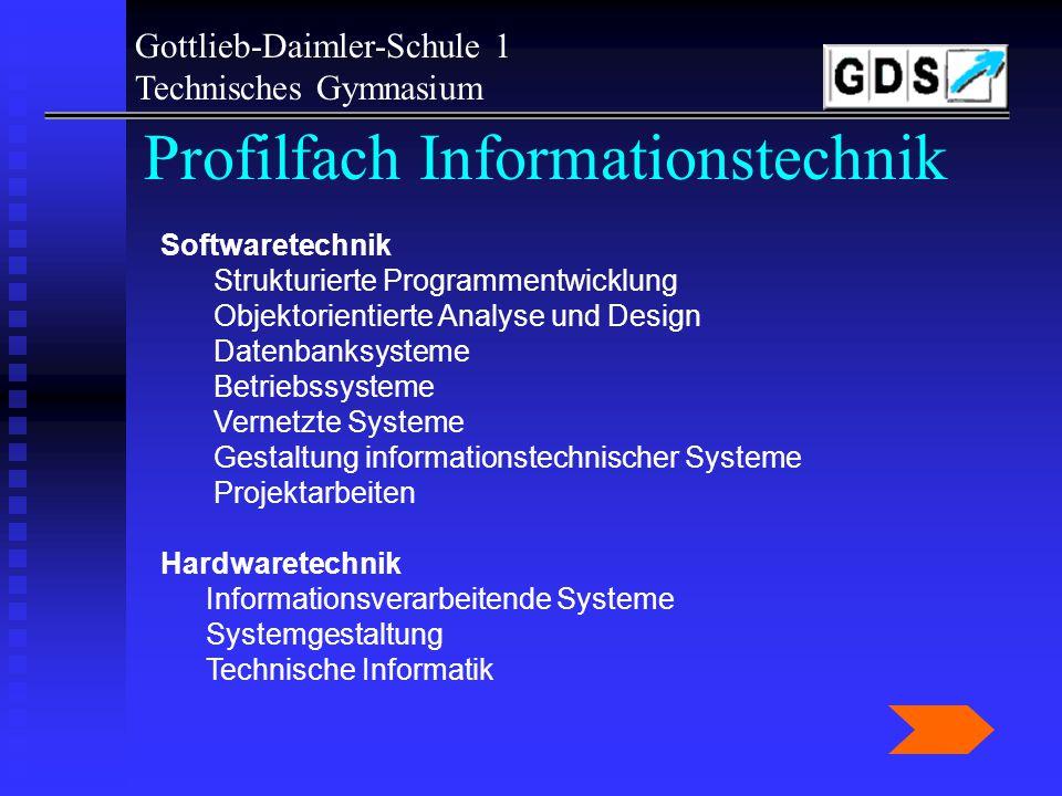 Profilfach Informationstechnik