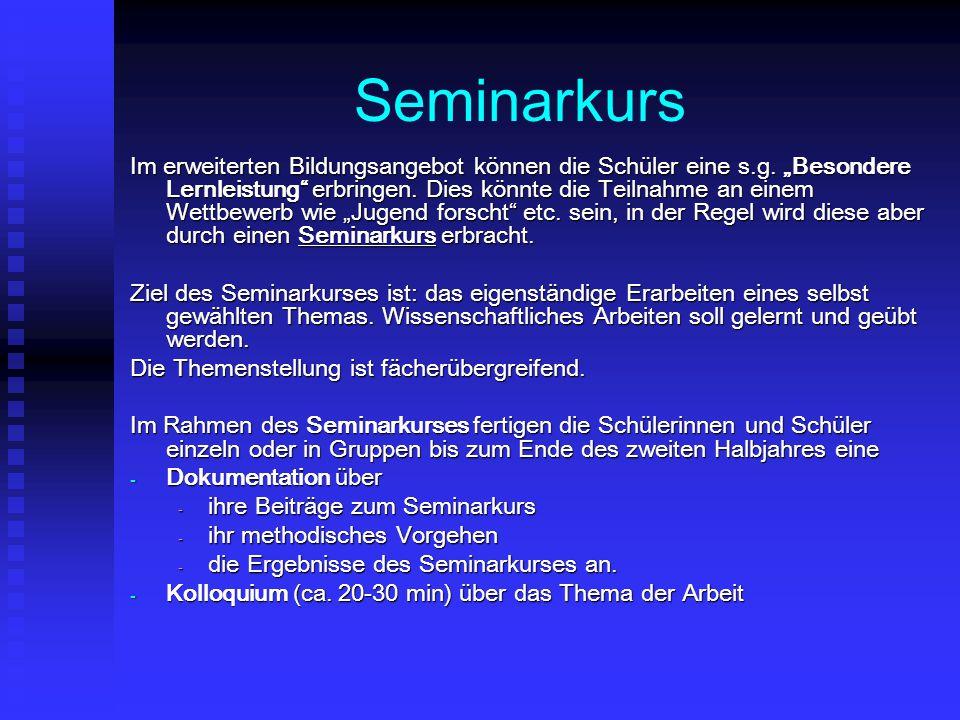 Seminarkurs