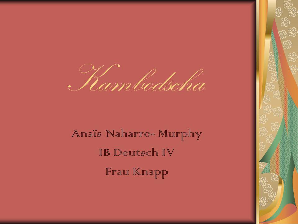 Anaïs Naharro- Murphy IB Deutsch IV Frau Knapp