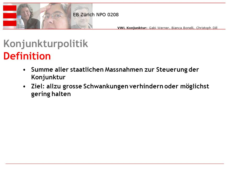 Konjunkturpolitik Definition