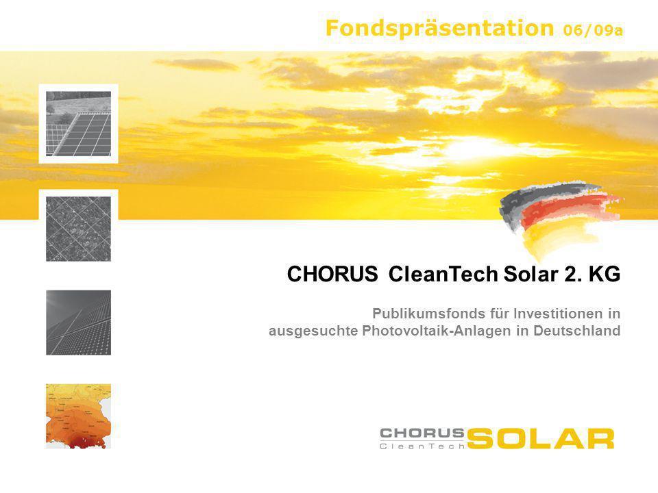 CHORUS CleanTech Solar 2. KG