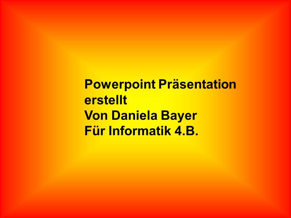 Powerpoint Präsentation erstellt