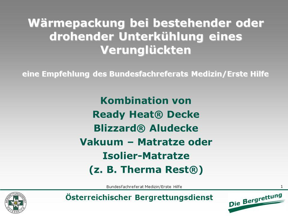 Bundesfachreferat Medizin/Erste Hilfe