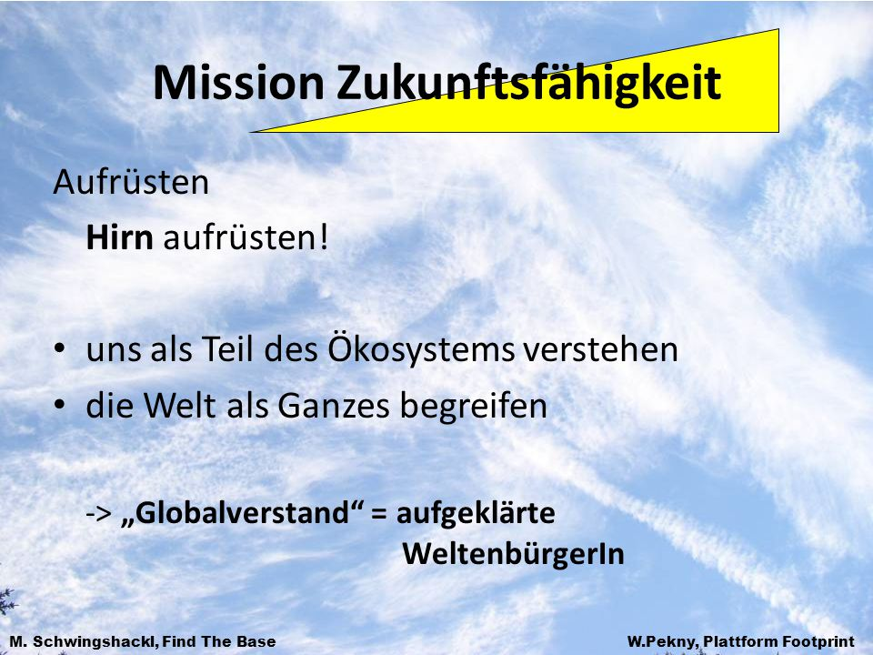 Mission Zukunftsfähigkeit