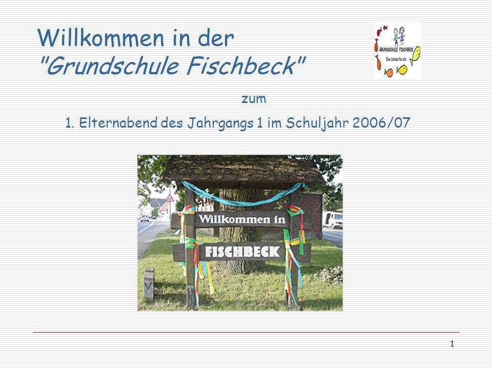 Willkommen in der Grundschule Fischbeck