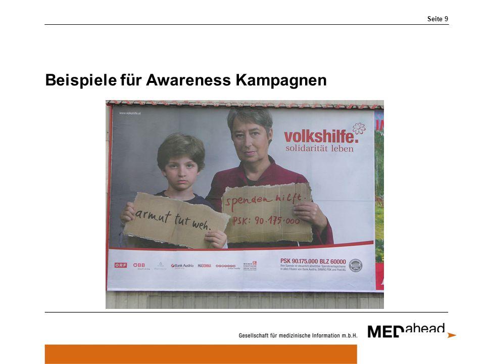 Beispiele für Awareness Kampagnen