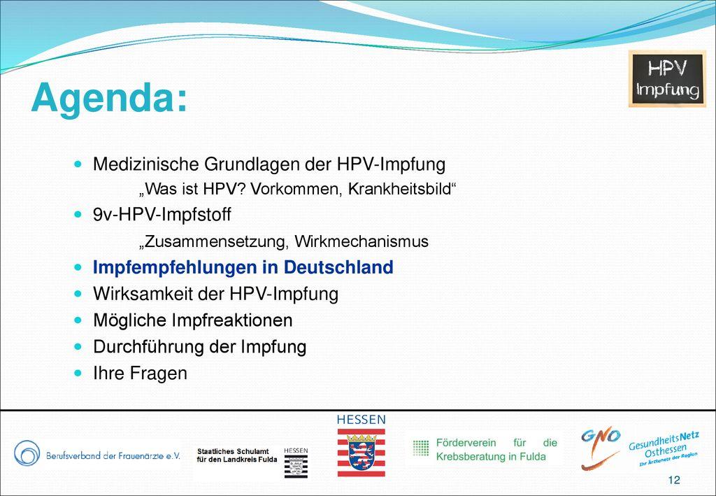 hpv impfung zusammensetzung