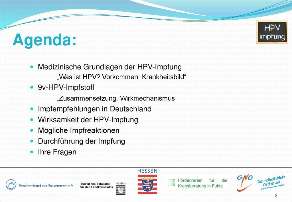 hpv impfung durchfuhrung