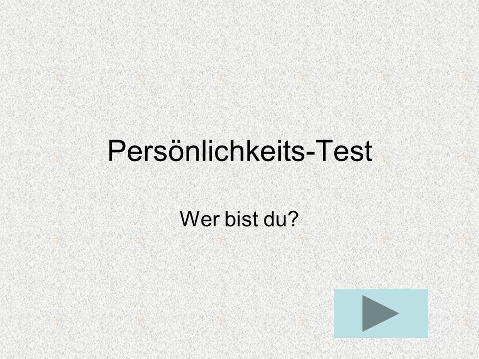 Persönlichkeits-Test