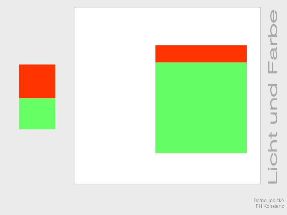 Was ist Farbe Relativ-Sehen Bernd Jödicke FH Konstanz