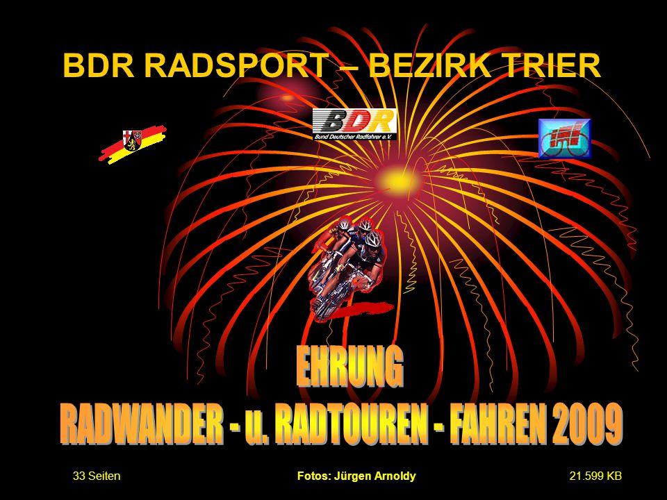 BDR RADSPORT – BEZIRK TRIER