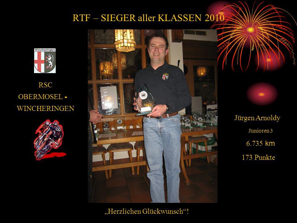RTF – SIEGER aller KLASSEN 2010