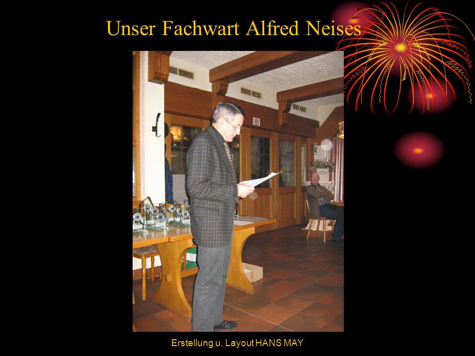 Unser Fachwart Alfred Neises