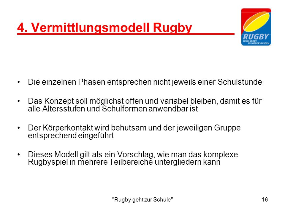 4. Vermittlungsmodell Rugby