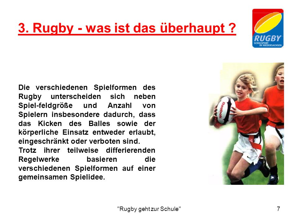 3. Rugby - was ist das überhaupt