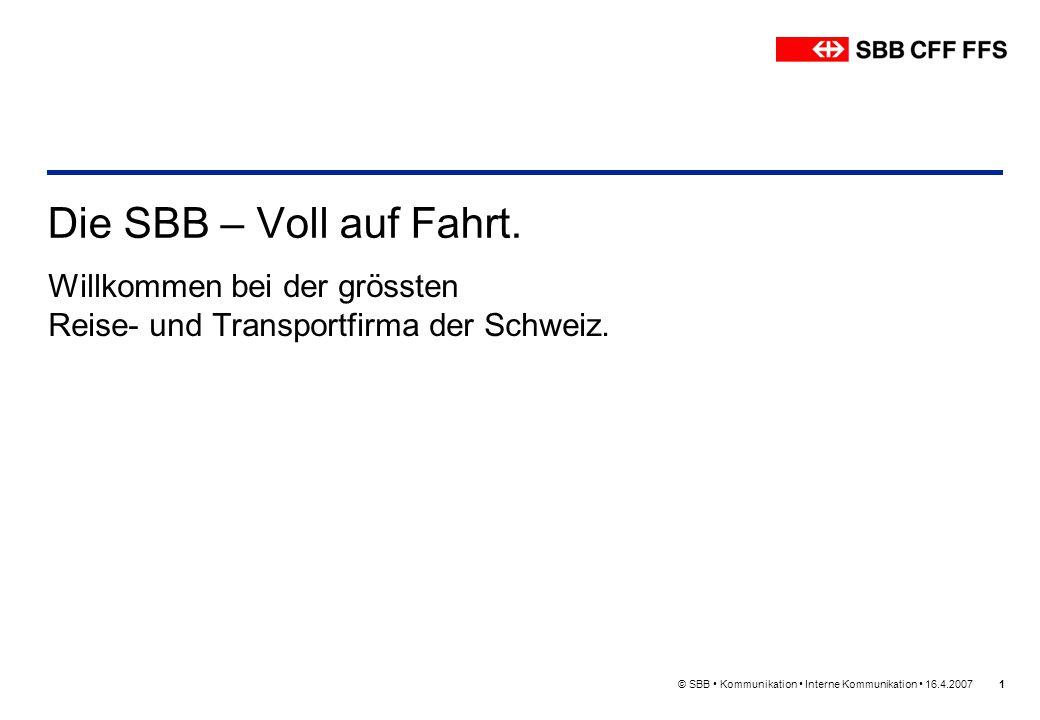 Willkommen bei der grössten Reise- und Transportfirma der Schweiz.