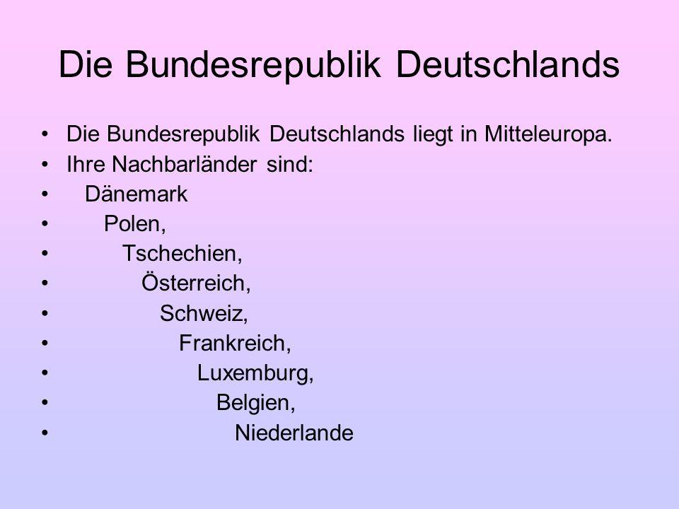 Die Bundesrepublik Deutschlands