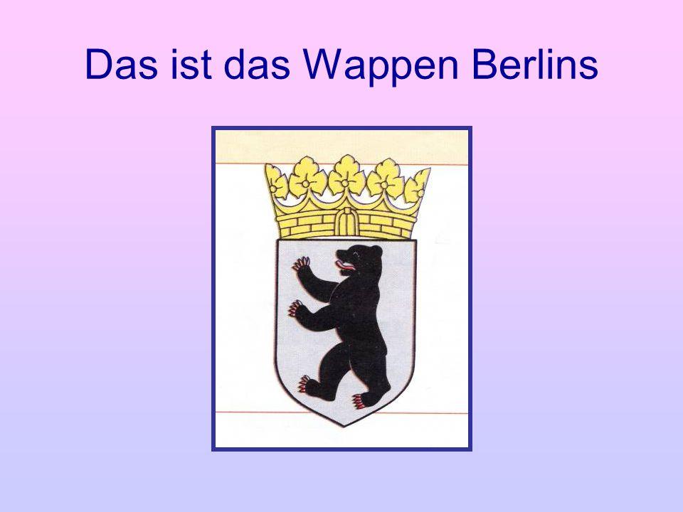 Das ist das Wappen Berlins