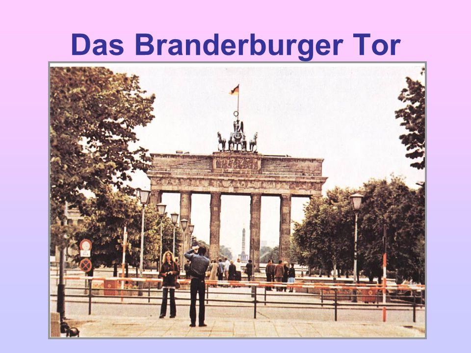 Das Branderburger Tor