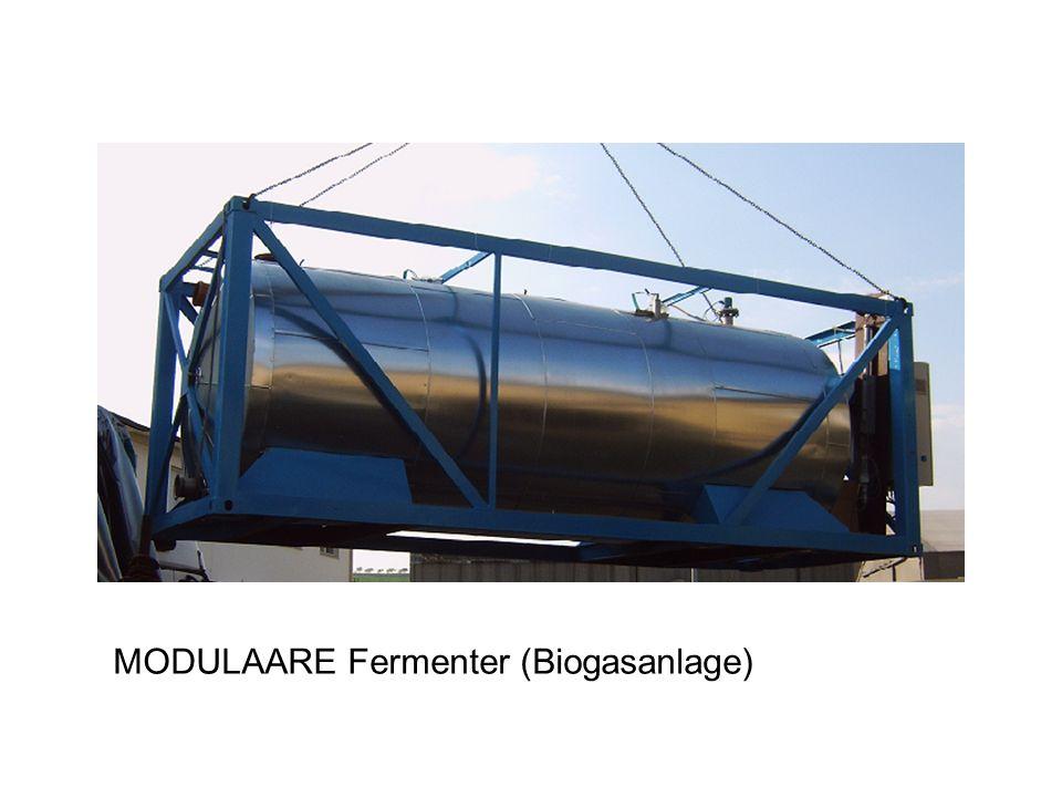 MODULAARE Fermenter (Biogasanlage)