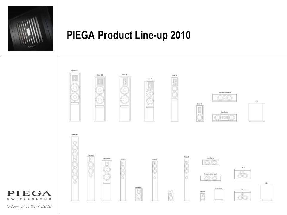 PIEGA Product Line-up 2010