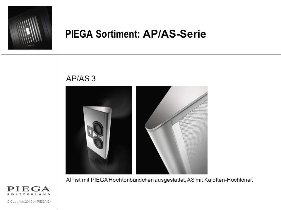 PIEGA Sortiment: AP/AS-Serie