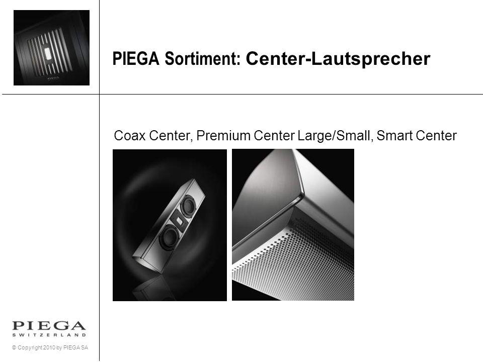PIEGA Sortiment: Center-Lautsprecher