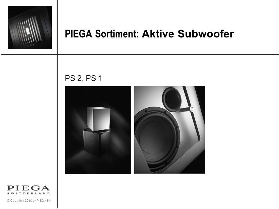 PIEGA Sortiment: Aktive Subwoofer