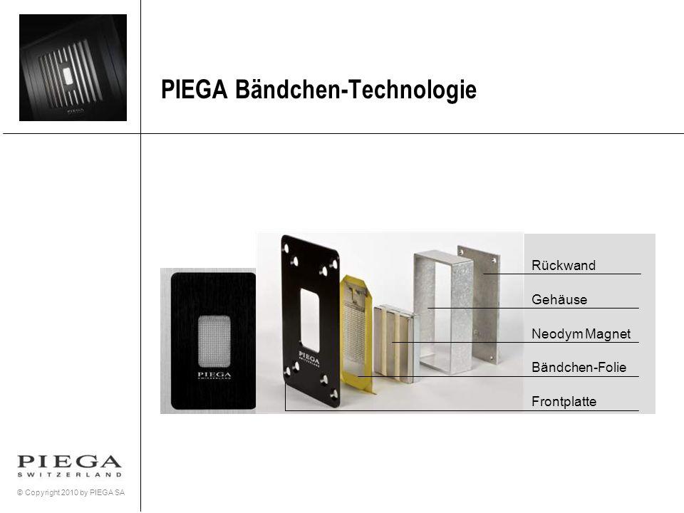 PIEGA Bändchen-Technologie