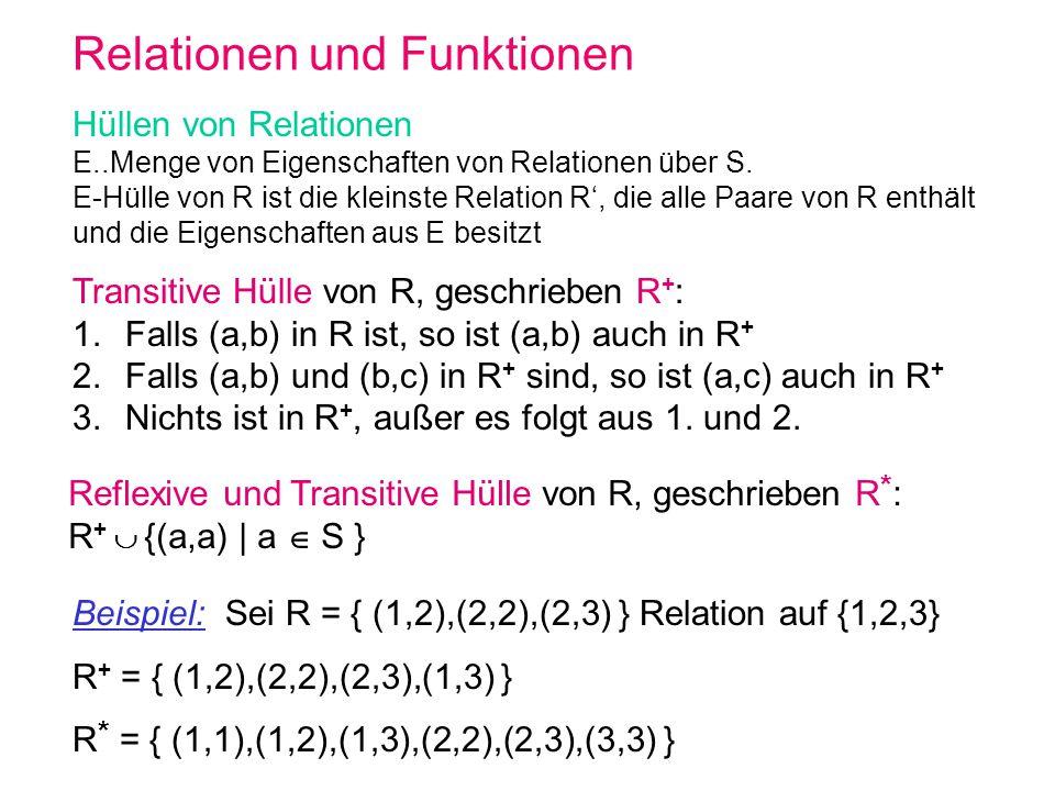 Relationen und Funktionen