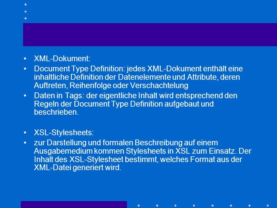XML-Dokument: