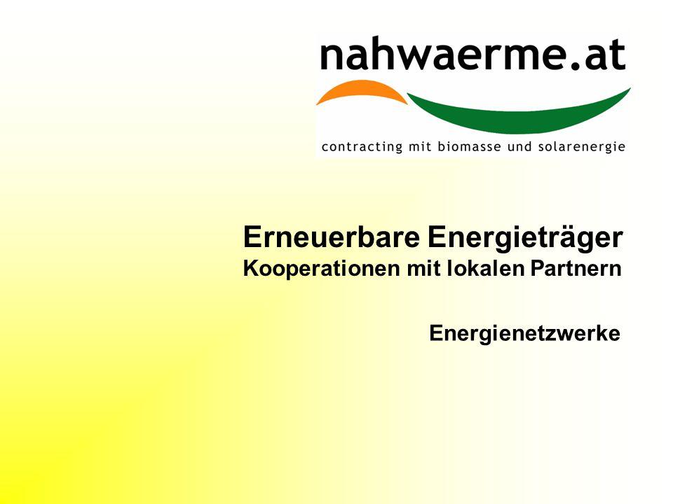 Erneuerbare Energieträger