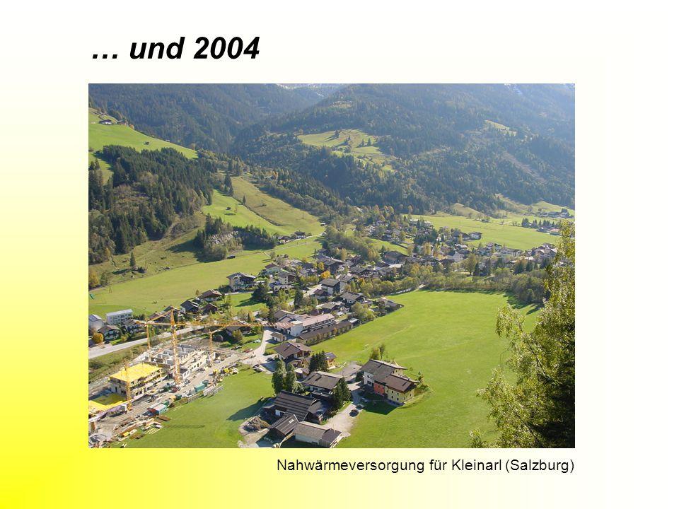 Nahwärmeversorgung für Kleinarl (Salzburg)