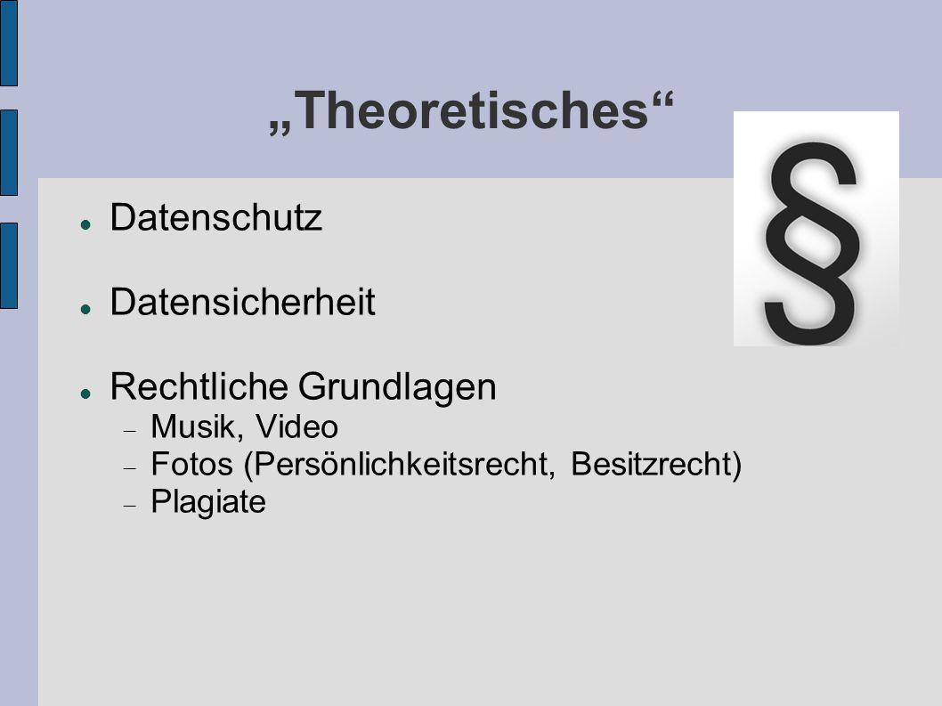 """""""Theoretisches Datenschutz Datensicherheit Rechtliche Grundlagen"""