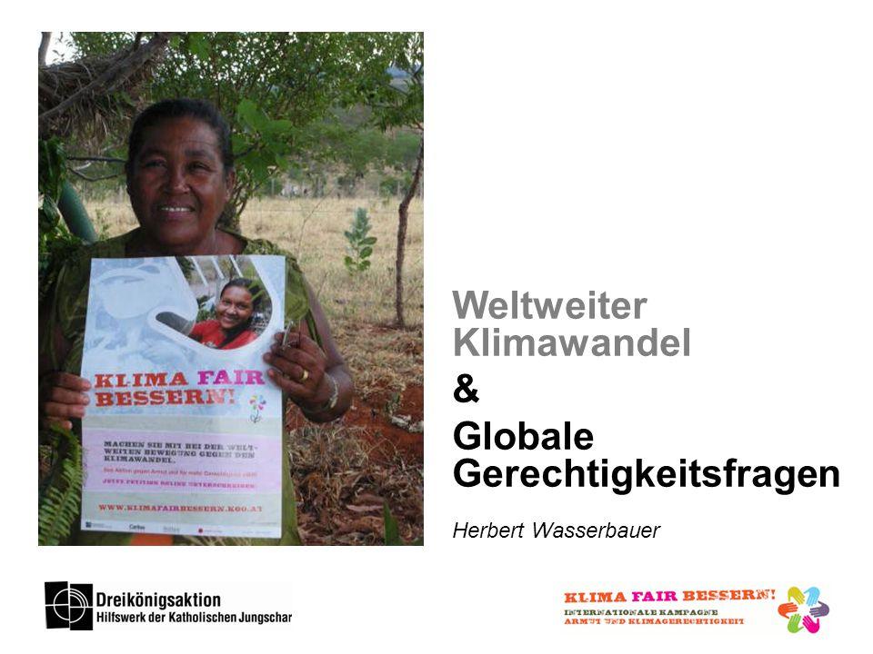 Weltweiter Klimawandel & Globale Gerechtigkeitsfragen